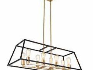 ARTIKA CARTER lONG 8 lIGHT CHANDElIER