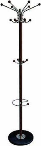 HOME BASICS CR49296 COAT RACK  HATS AND UMBREllAS