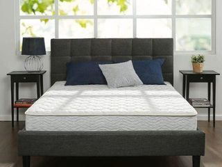 ZINUS 8  HYBRID GREEN TEA FOAM   SPRING MATTRESS