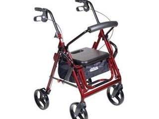 DRIVE DUET ROllATOR TRANSPORT CHAIR