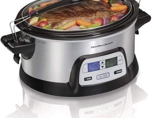HAMIlTON BEACH 33861 FlEXCOOK SlOW COOKER