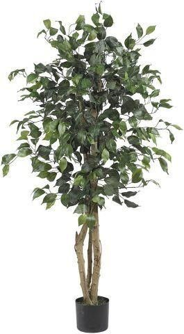 4 FEET  NEARlY NATURAl 5299 FICUS SIlK TREE