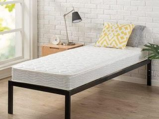30 x 75 INCH  NARROW TWIN  ZINUS SPRING MATTRESS