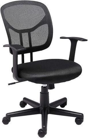 AMAZONBASICS MID BACK DESK OFFICE CHAIR