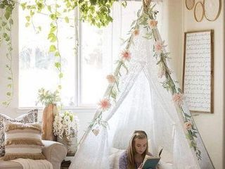TINY lAND lUXURY lACE TEEPE TENT