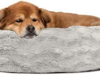 MEDIUM  BEST FRIENDS lUX GRY 3030 DONUT CUDDlER