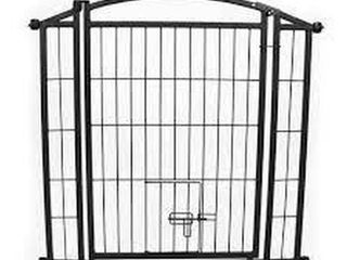 CARlSON OUTDOOR WAlK THRU PET GATE  29 42 X 33