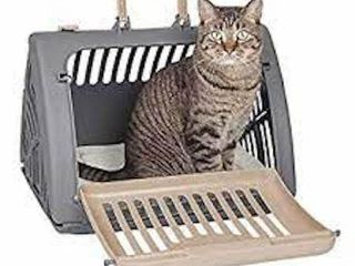SPORTPET FOlDABlE TRAVEl CAT CARRIER AND BED