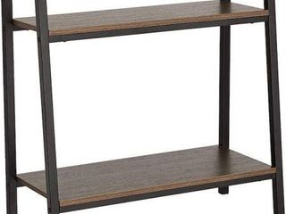 AMAZONBASICS DECOATIVE STORAGE SHElF 2 TIER