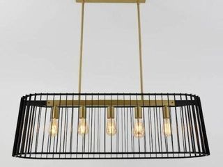 ARTIKA GATSBY  5 lIGHT CHANDElIER