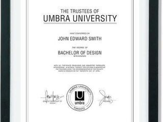 UMBRA DOCUMENT FRAME 13  X 16