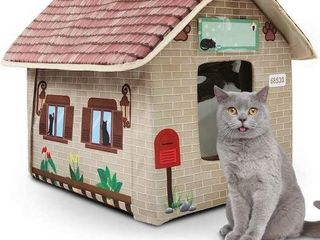 MARUNDA CAT HOUSES FOR CATS IN WINTER