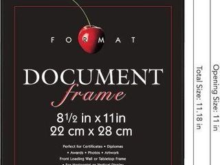 MCS DOCUMENT FRAME 8 1 2 X 11 INCH  5 PIECES