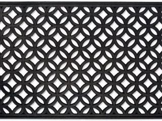 DII CAMZ37035 HEAVY DUTY RUBBER DOORMAT 18  X 30