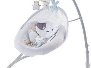 FISHER PRICE SWEET SNUGAPUPPY CRADlE  N SWING