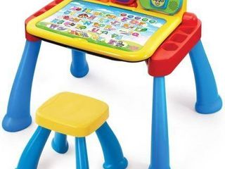 VTECH TOUCH   lEARN ACTIVITY DESK DElUXE