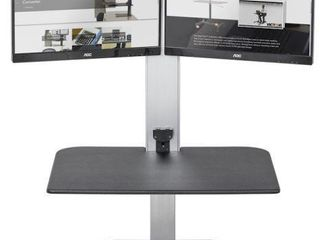 VICTOR HIGH RISE ElECTRIC DUAl MONITOR STANDING
