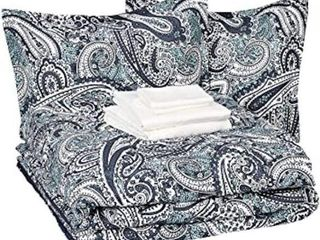 AMAZON BASICS COMFORTER SET  TWIN Xl