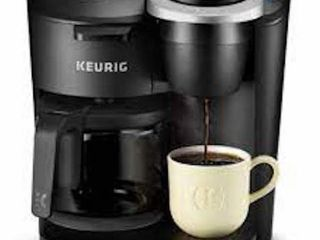 KEURIG K DUO COFFEE MAKER WITH 1 77 lITER