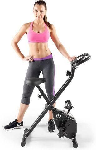 MARCY NS 654 FOlDING UPRIGHT EXERCISE BIKE