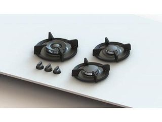 PITT BY REGINOX CIMA 3 RING GAS BURNER HOB