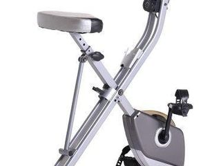 EXERPEUTIC FOlDING MAGNETIC EXERCISE BIKE