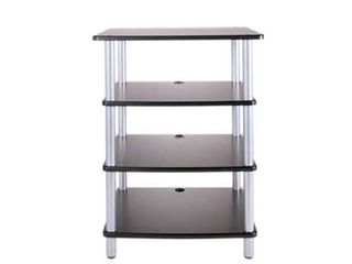 SANUS 4 SHElF AV STAND  33 3 X 25 5 X 19 4 INCHES