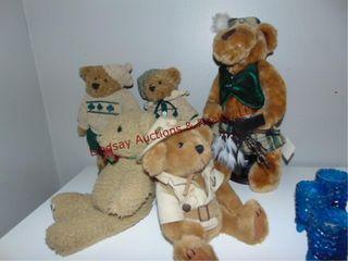 5 stuffed bears SEE PICS