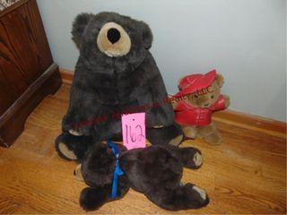 3 stuffed bears