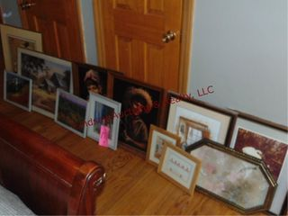 lot w  approx 12 pictures various sizes SEE PICS