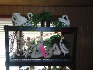 Decor items  ducks  greenery  statues    other