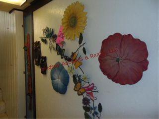 7pc wall decor SEE PICS