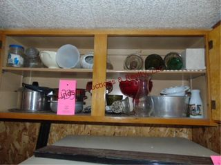 Group misc dishes  pots  pans  vases   other