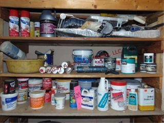 lg group misc paint items  paint putty  spackle