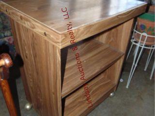 Wood cart 25 x 19 x 31