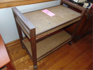 Rolling tv stand 30 5 x 16 5 x 26