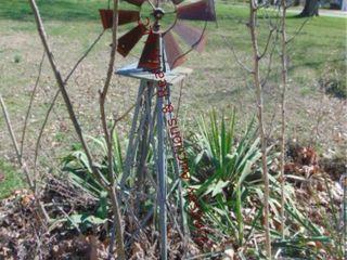 Windmill  milk jug  shepherd hook  2 statues  othr