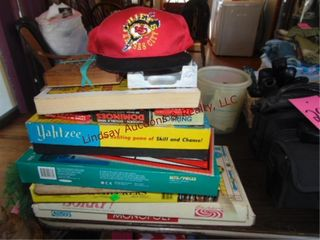 Group of games  chiefs items   other misc SEE PICS