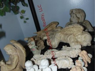 Group of Angel figurines  various sizes