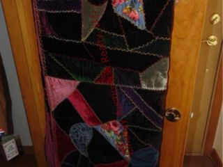 Velour quilt  size unknown