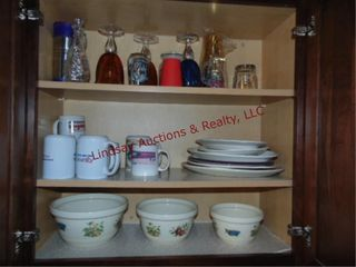 Group  platters  cups  bowls  glasses SEE PICS