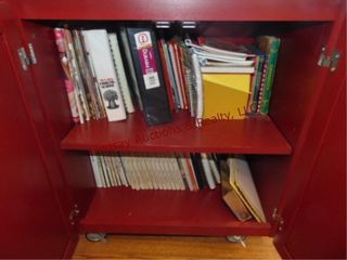 Group of cookbooks  CABINET NOT INClUDED