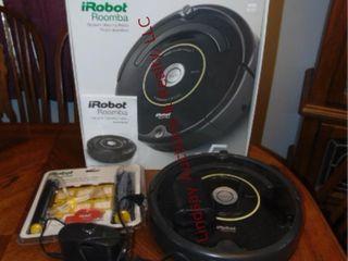 iRobot Roomba vacuum cleaner w  box