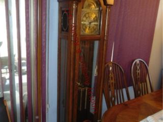 Ridgeway grandfather clock 20x 12 x 80 5