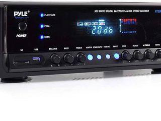 Pyle PT390BTU 300W Digital Home Theater Bluetooth Stereo Receiver with AM FM Radio
