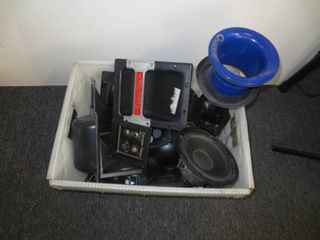 lot of misc audio components