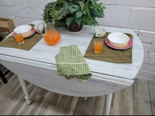 Upcycled Dining Buffet Table w  Drop Sides