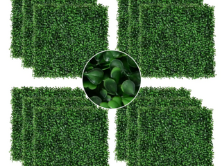 Artificial Boxwood Panels