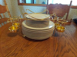 Dinner and Salad Plates   8 of Each