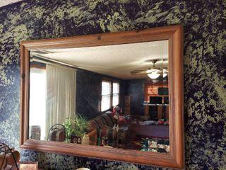 Beveled Mirror in Frame